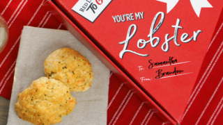 You Can Send A Heart-shaped Box Full Of Red Lobster Biscuits For Valentine's Day
