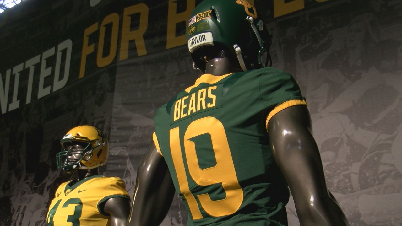 """bff86762038 Baylor Athletics unveils """"United"""" a unified visual identity in partnership  with NIKE"""