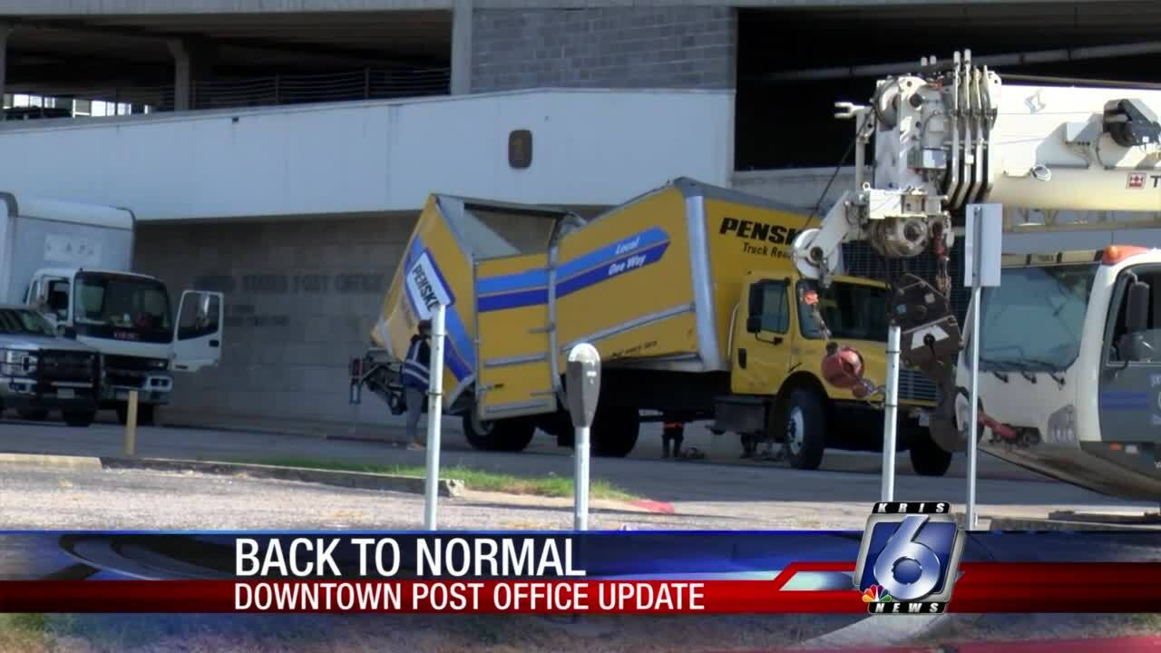Downtown post office is back open