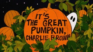 When can I watch 'It's the Great Pumpkin, Charlie Brown'?