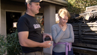 Engaged Nevada couple grateful to firefighters for helping save wedding plans