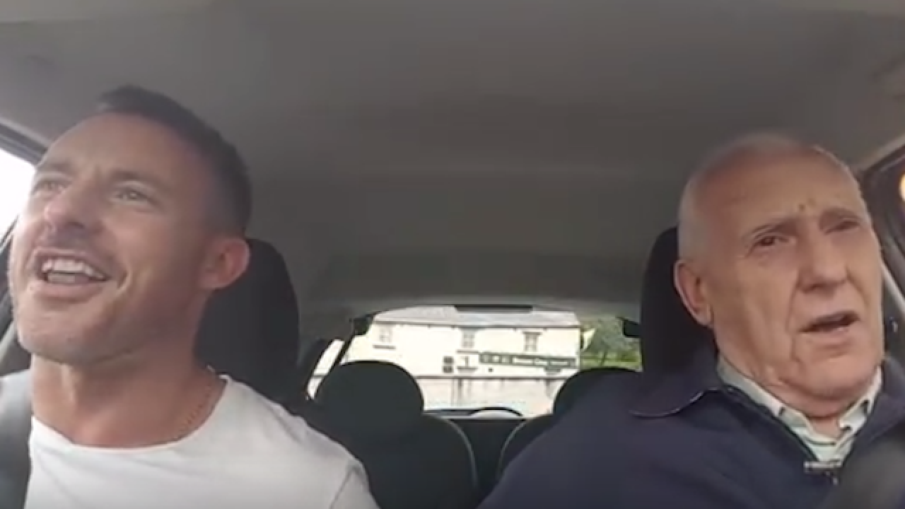 Alzheimer's patient is himself again when singing with his son