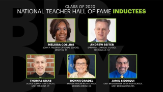 National Teacher Hall of Fame Inductees
