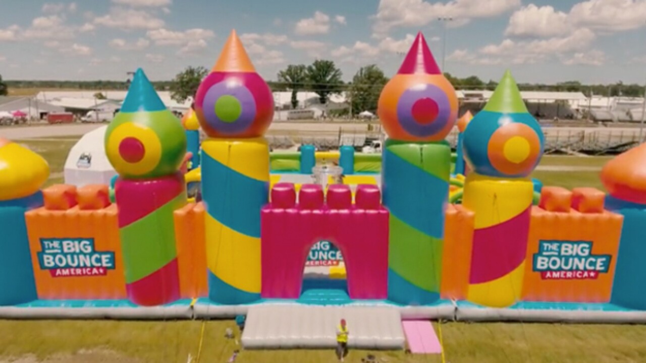 World's Biggest Bounce House To Visits Nashville