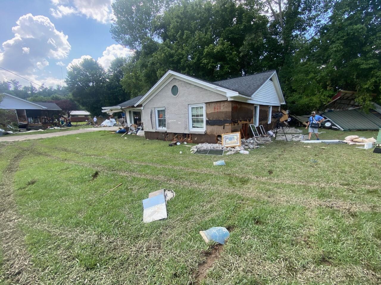 waverly house floated away