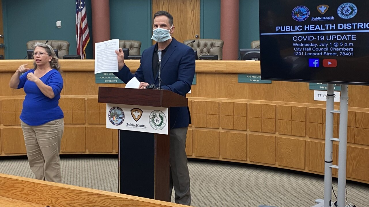 WATCH: Friday pandemic briefing from city/county officials
