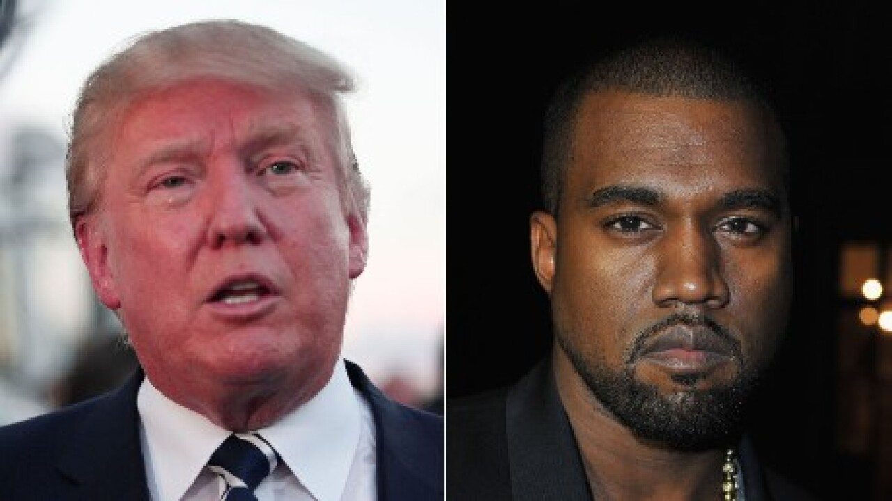 Donald Trump on Kanye West 2020: 'I hope to run against him someday'