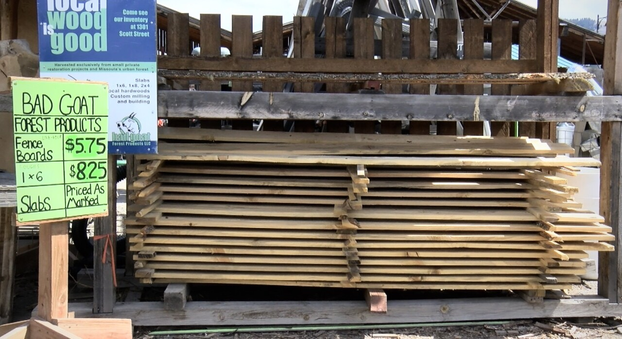 Home ReSource sells alternative wood building materials