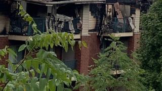 Waukesha apartment fire
