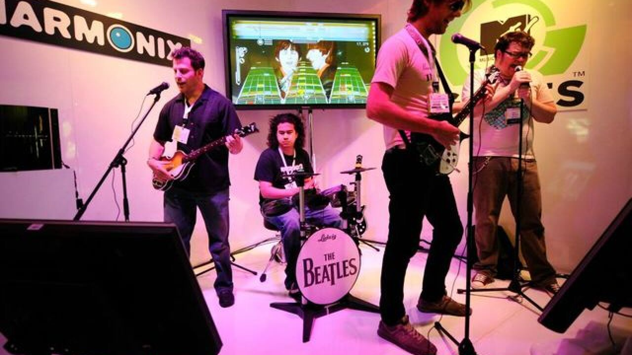 Rock Band game is making a comeback