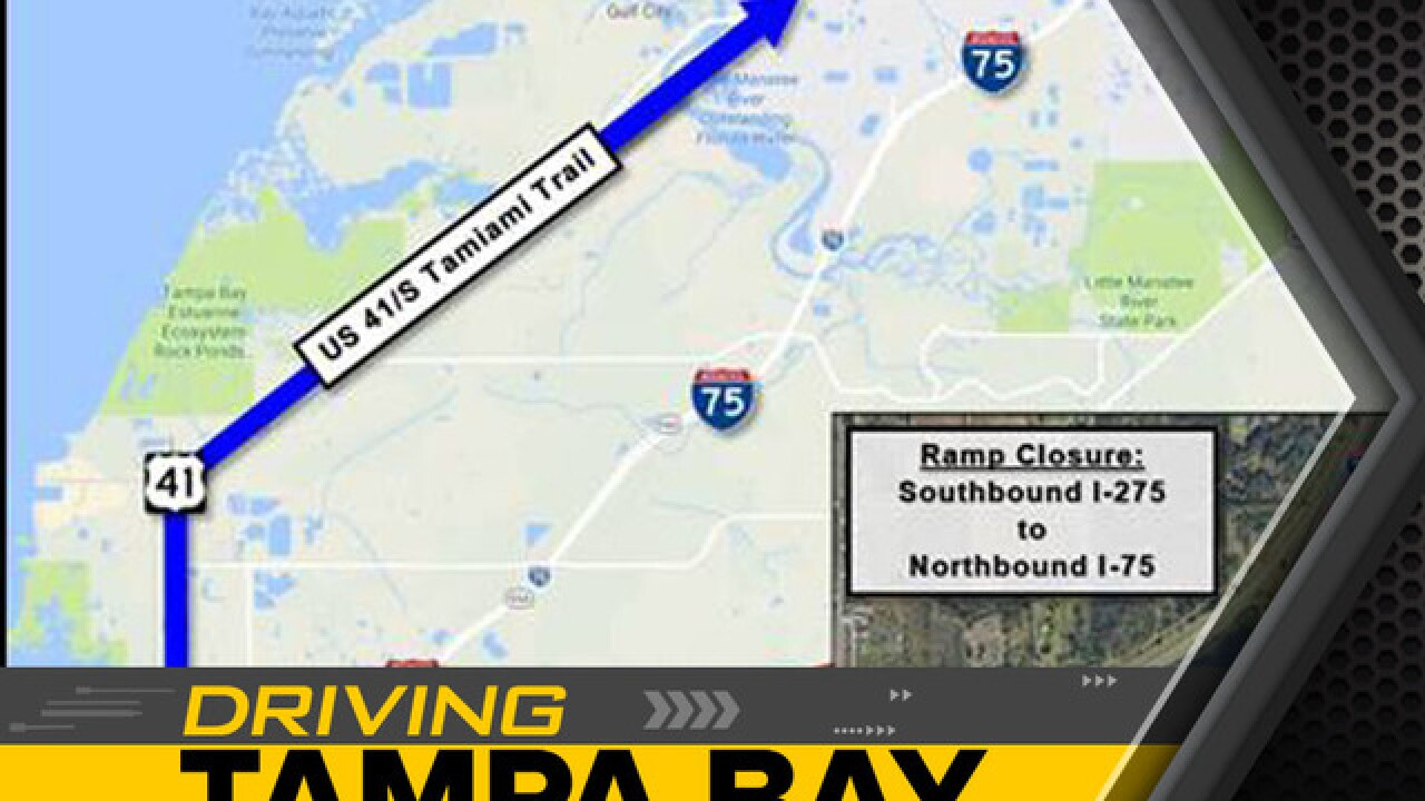 Construction to force I-75 ramp to close