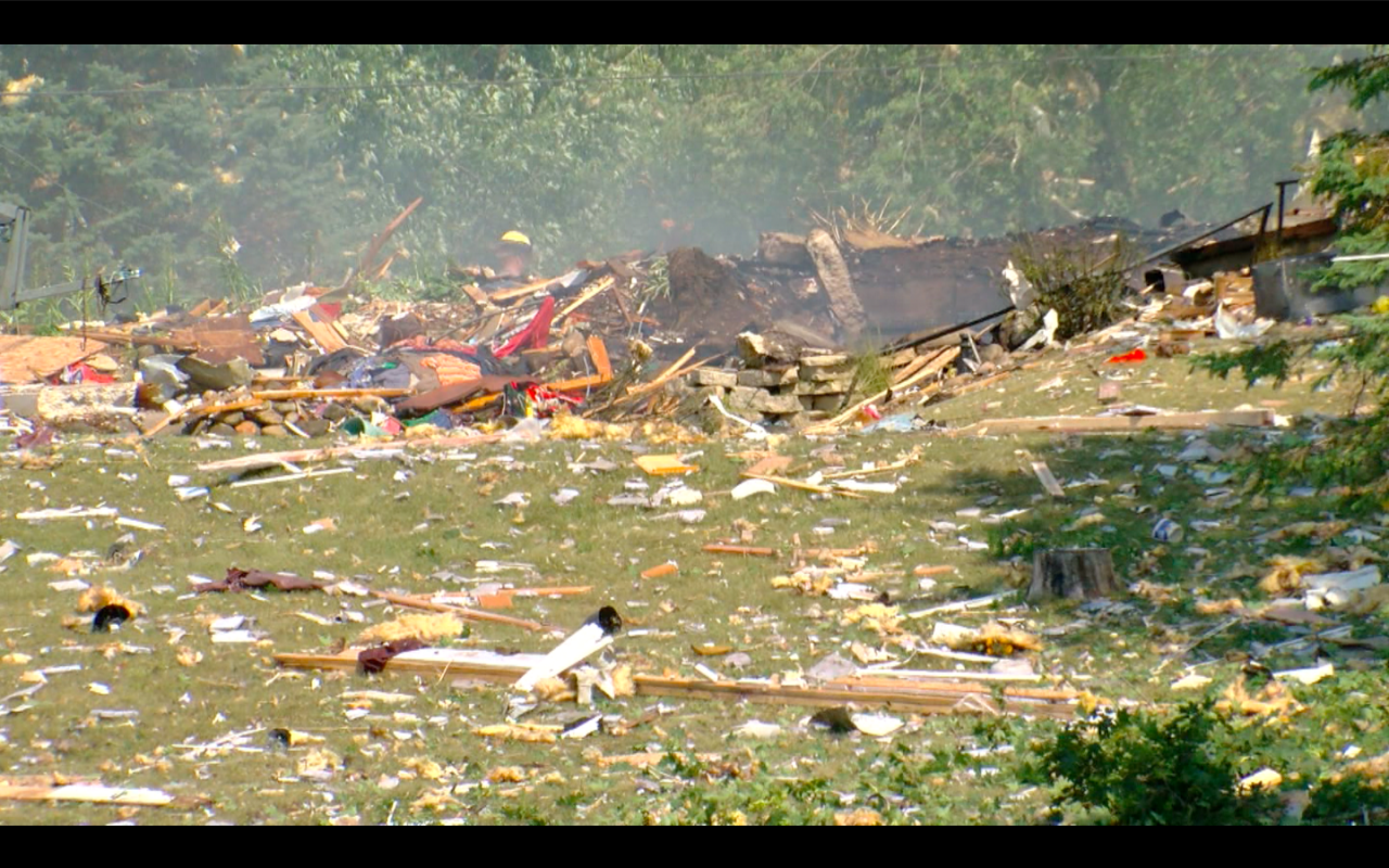 Home explosion village of Rome man dead
