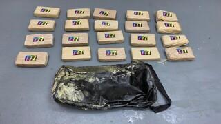 Cocaine found in duffel bag in Florida Keys