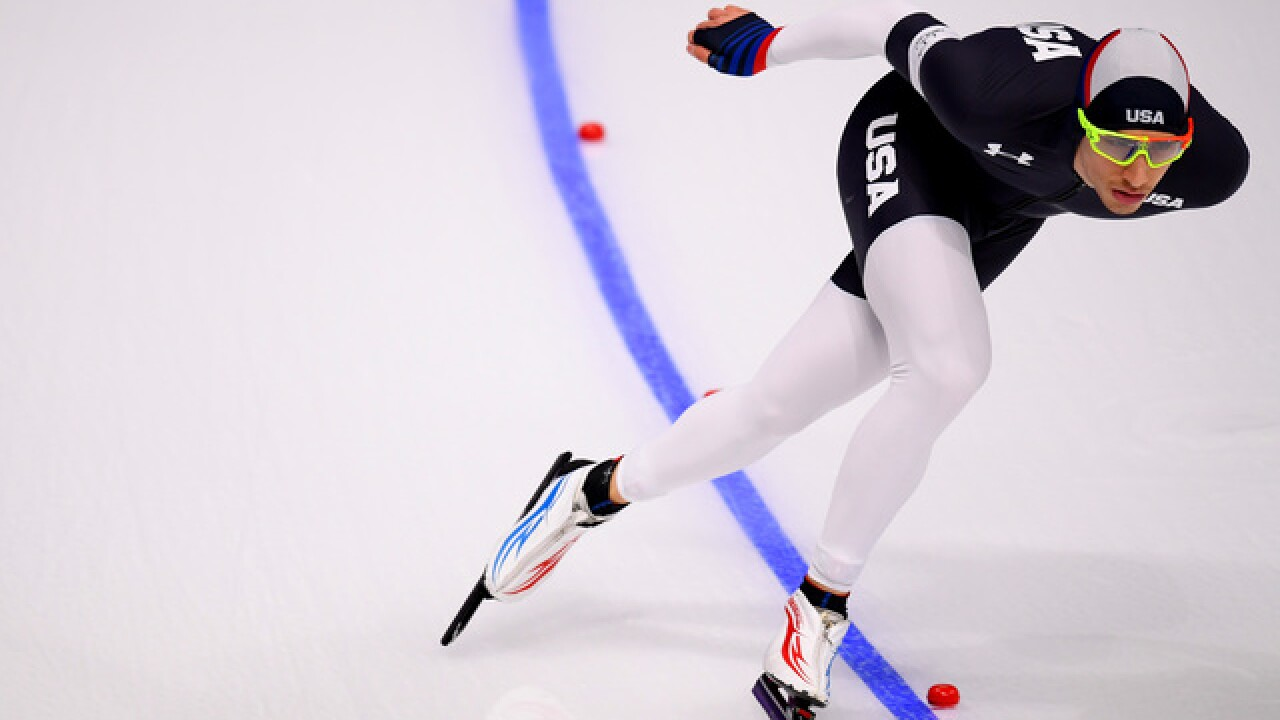 Marquette student Emery Lehman, USA speedskating start slow in Olympics