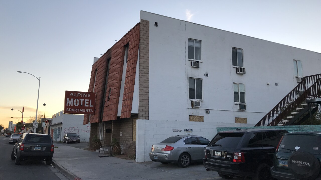 The Alpine Motel Apartments in downtown Las Vegas are at the center of multiple investigations related to a deadly fire in Late December 2019 in which six people were killed and dozens more were injured or displaced
