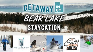 Getaway inUtah Bear Lake Winter Staycation Contest