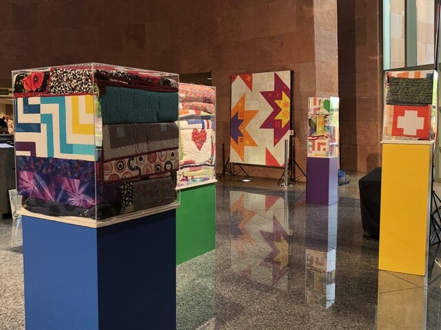 Quilts for Vegas exhibit opens at Clark County Government Center