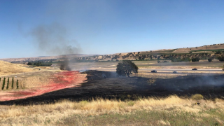 UPDATE: Fire burns 5.6 acres along Hwy 46 East