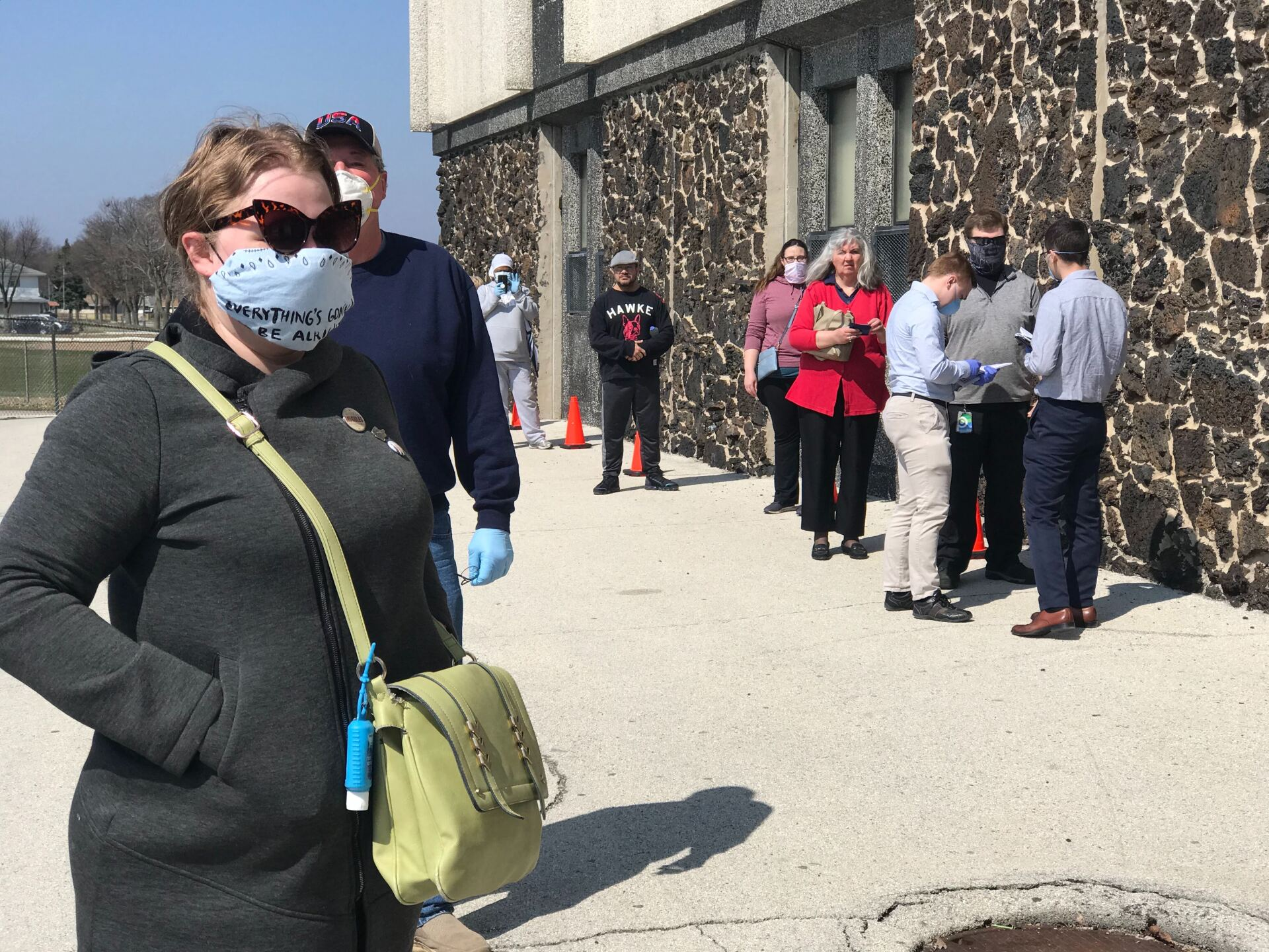 Wisconsin's spring election continues on despite coronavirus pandemic [PHOTOS]