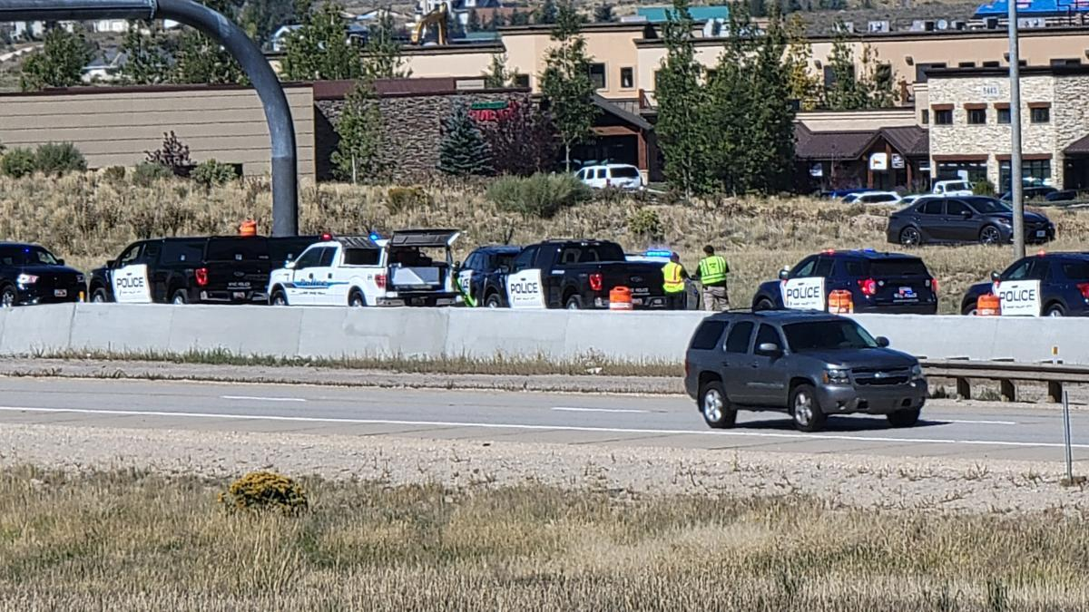 US-40 Chase Accideent