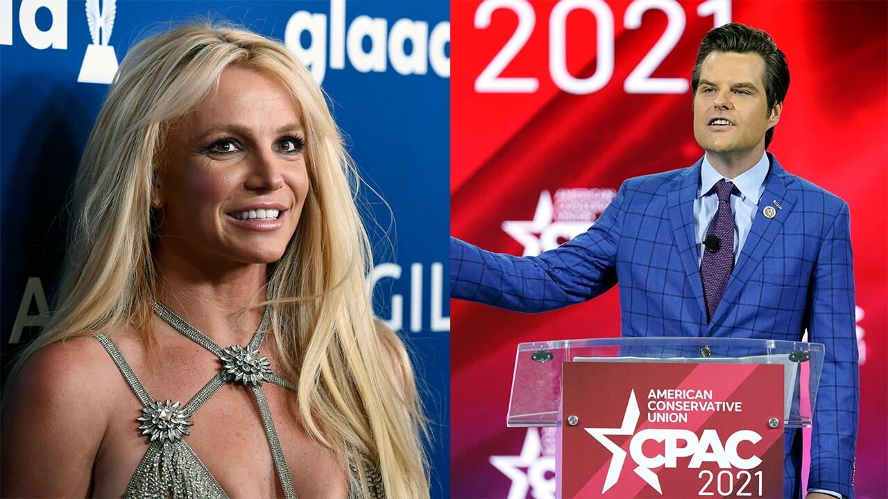 Britney Spears and Matt Gaetz