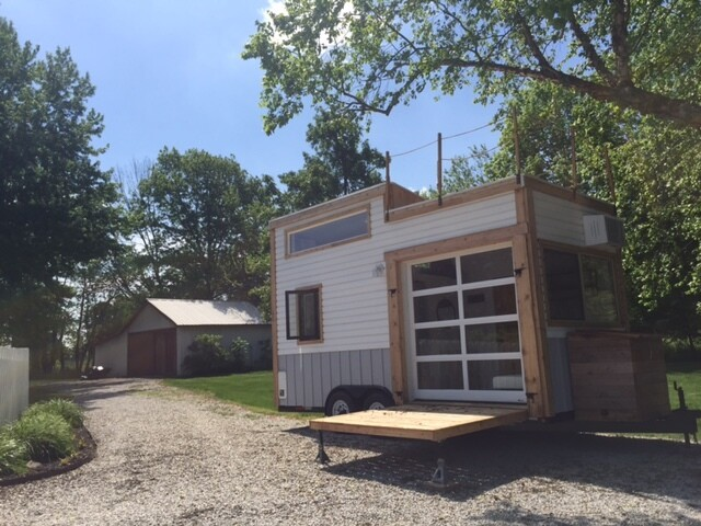 Rent a tiny house in central Indiana