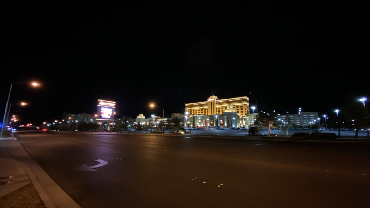 The South Point Hotel and Casino is located at Las Vegas Boulevard and Silverado Ranch in Las Vegas