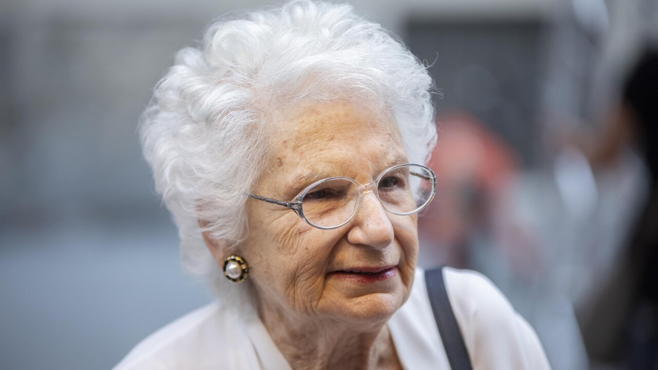 Italian life senator Liliana Segre pictured on June 21 at Fuoricinema 2019 in Milan. The 89-year-old Auschwitz survivor is now under police protection after receiving online and offline anti-Semitic threats in Italy, according to local reports.