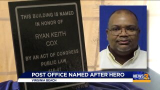 Post office renamed after hero in Virginia Beach mass shooting