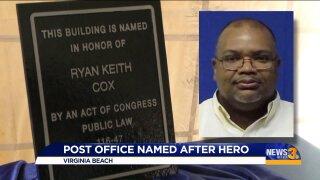 Post office renamed after hero in Virginia Beach massshooting