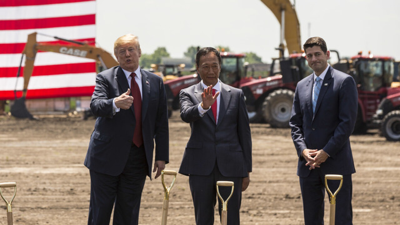 Foxconn breaks ground in Mount Pleasant