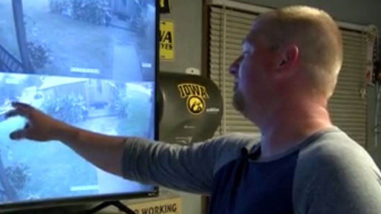 JC COLTON HELPS INSTALL SECURITY CAMERAS