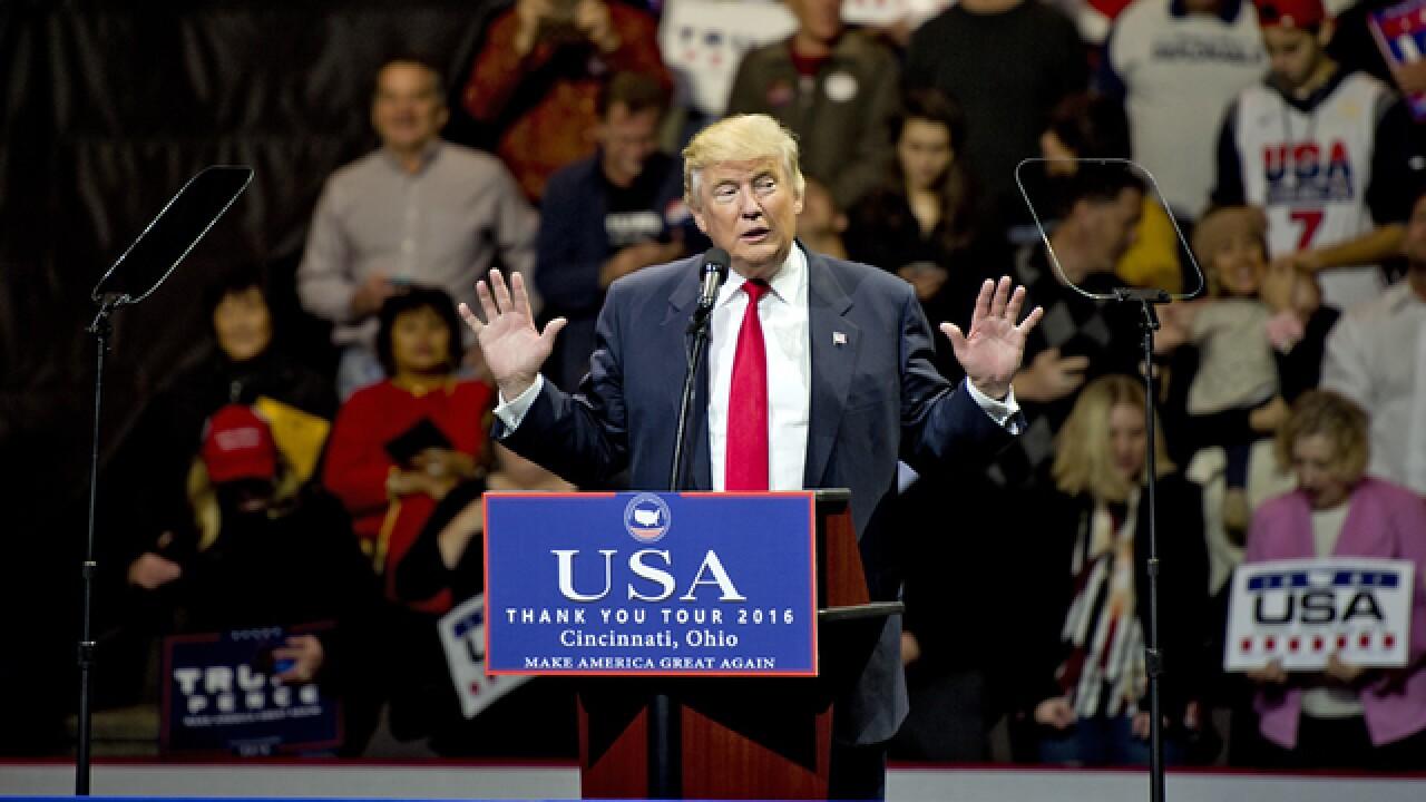LIVE: Preps underway for Trump's Cincy event