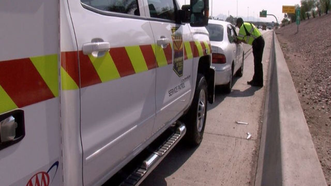Car troubles on freeway? DPS says call 911