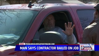 Contractor accused of taking thousands of dollars calls police on ProblemSolvers
