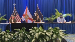 Nikki Fried at FIU roundtable discussion on chronic hunger