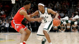 Cassius_Winston_Big Ten Basketball Tournament - Quarterfinals