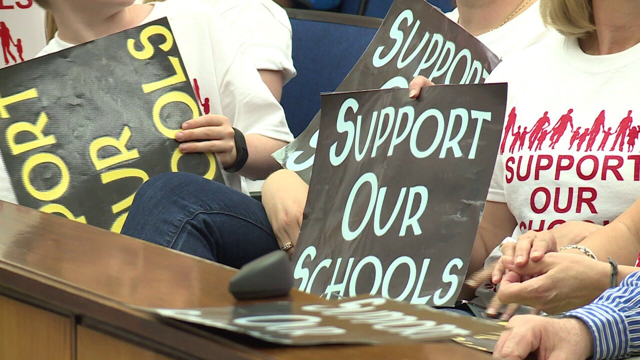 'Fund our Schools!' rallies continue in Richmond