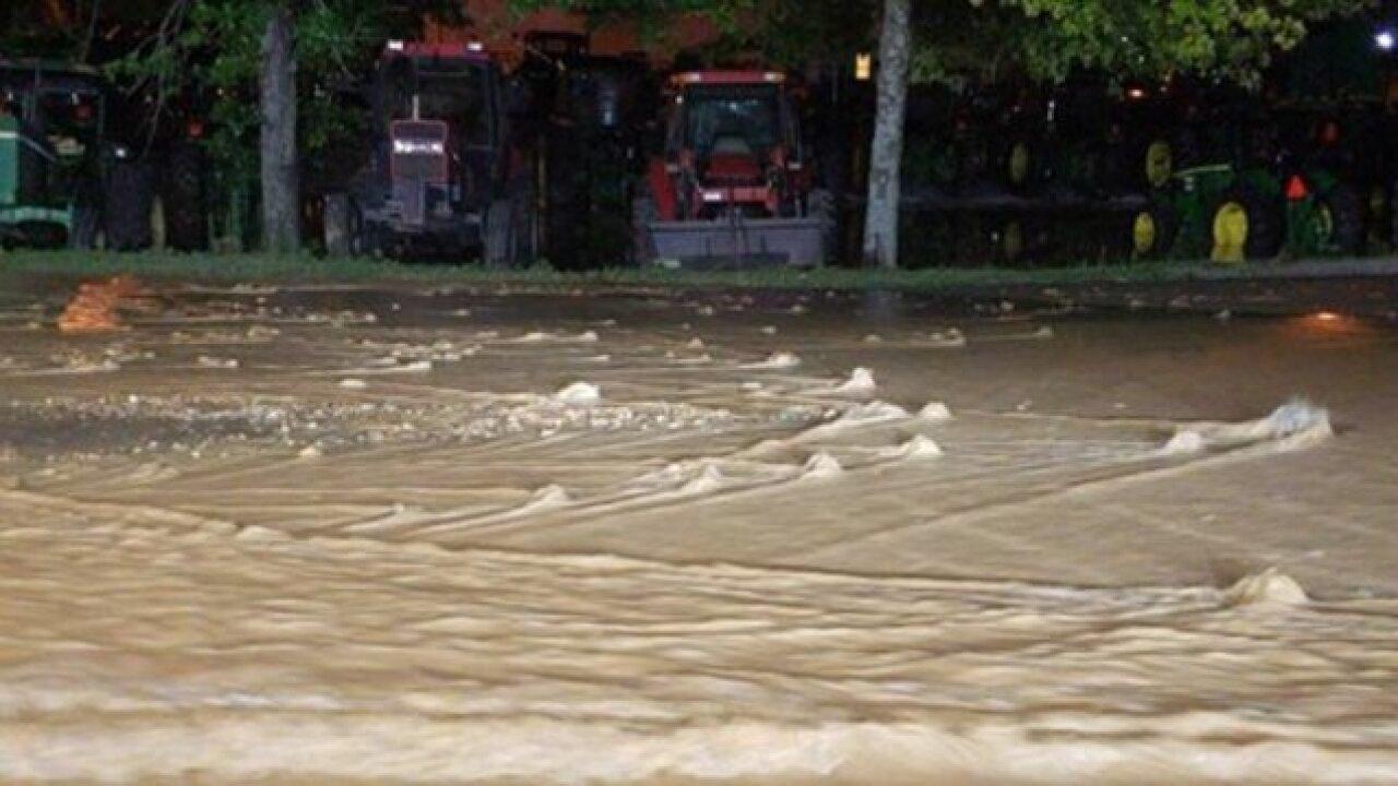 Large Water Main Break In Mt. Juliet
