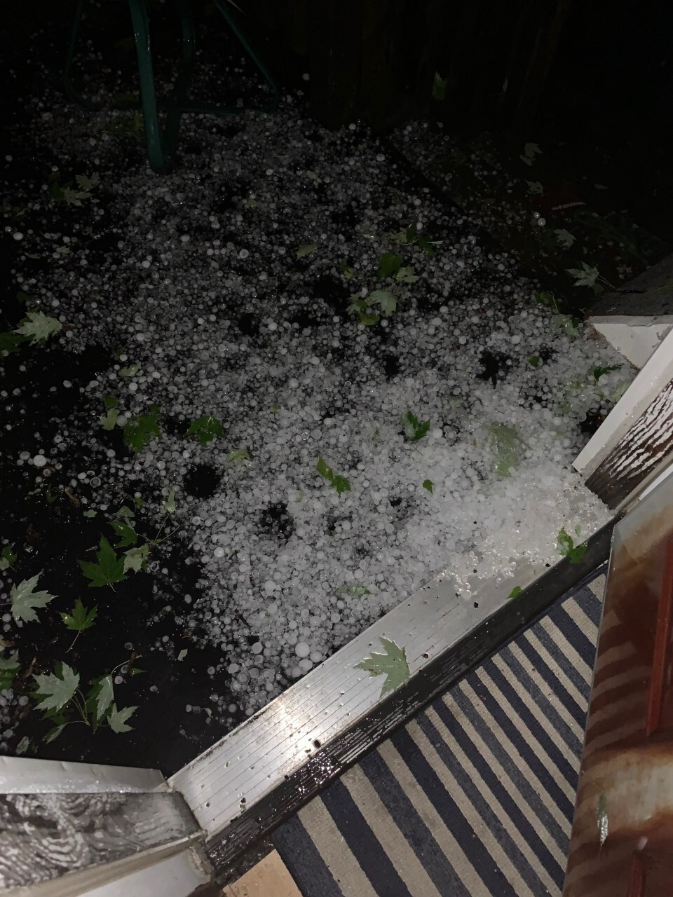 Thunder, lightning and hail blast through WNY overnight Tuesday into Wednesday.