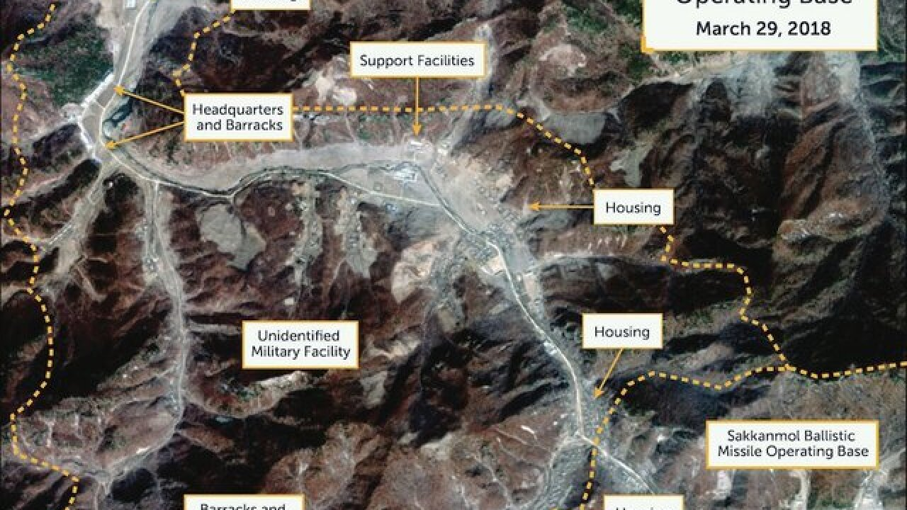 Satellite images reveal hidden North Korean missile bases