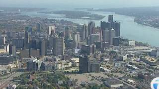 Could a beach be coming along Detroit River?