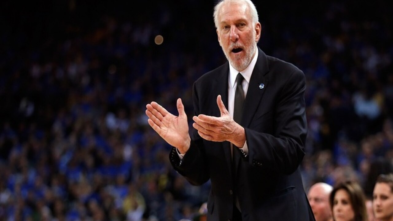 Spurs coach has funny reaction to N.H. primary