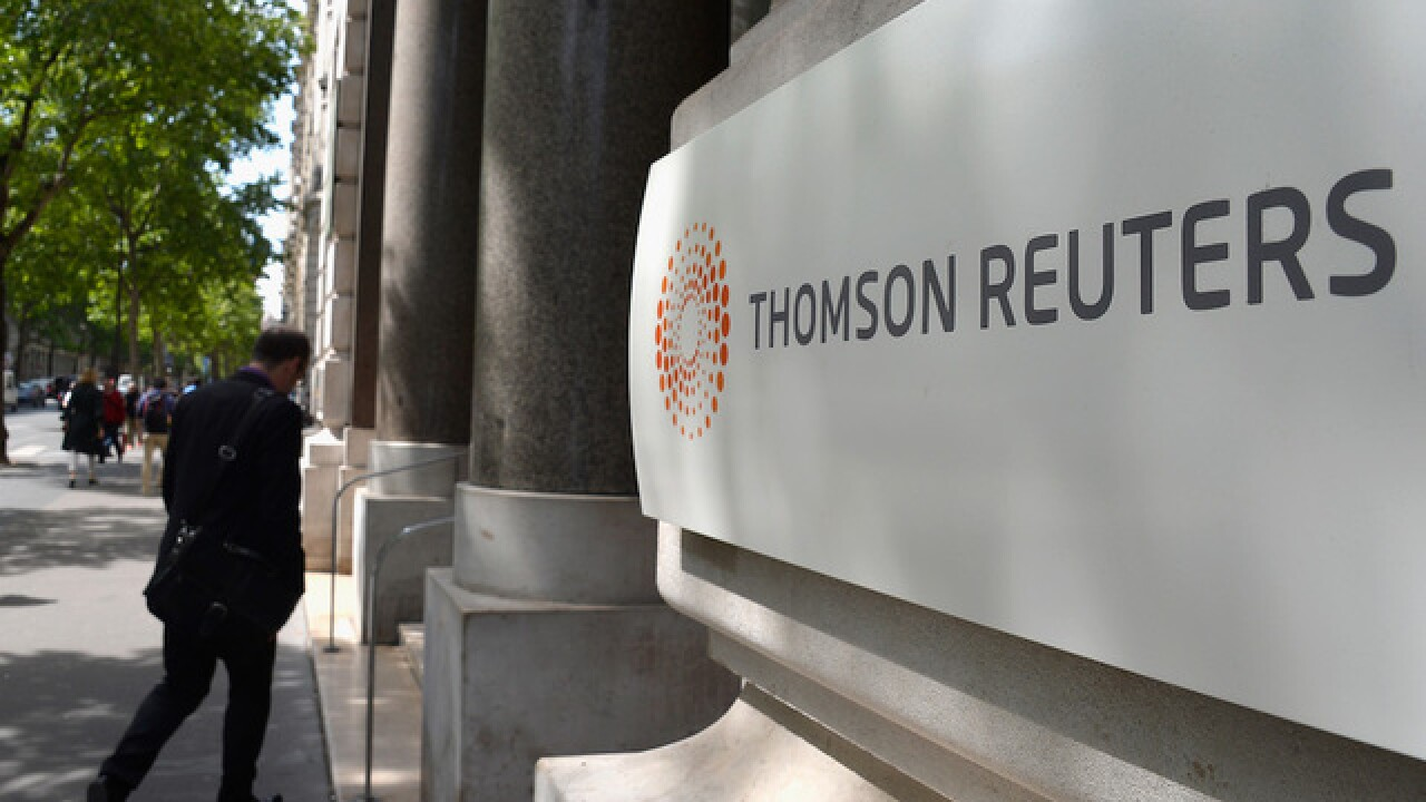 Thomson Reuters media company to cut 3,200 jobs