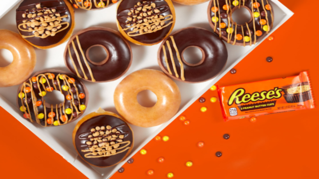Krispy Kreme Is Bringing Back 3 Reese's Doughnuts But Only 1 Will Be Added To The Permanent Menu