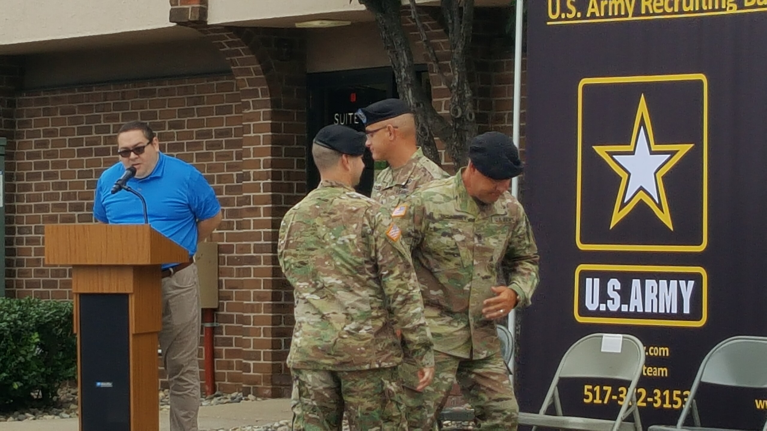 U.S. Army Recruiting Battalion Change of Command Ceremony