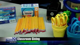 Local teacher receives hundreds of dollars in school supplies from donors across the country, here's how