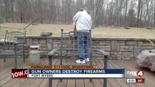 1121a7ed0b Gun owners get rid of their guns to send message