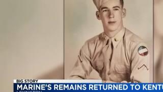 Korean War Marine's remains returned - 11-21-19 - 11 p.m.