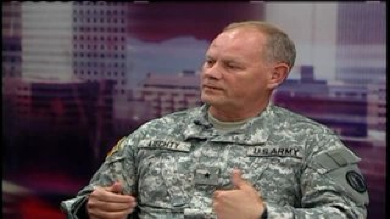 Interview: Role of National Guard in ShakeOut drill